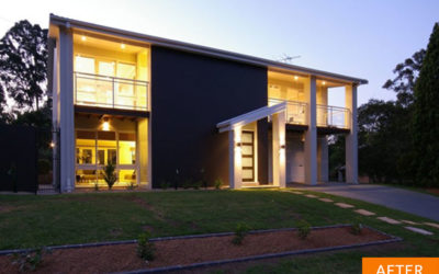 Two-storey home renovations