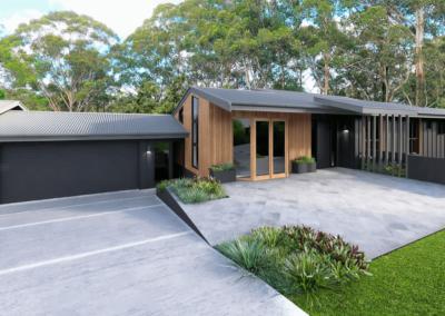 Garcia Facade – Gosford, NSW (renovation)