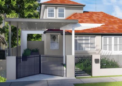 Wheeler Facade – Maroubra, NSW (renovation)