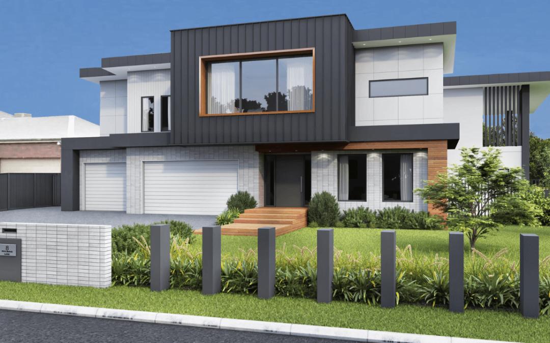 Grosz Facade – Maddingley, VIC (new build)
