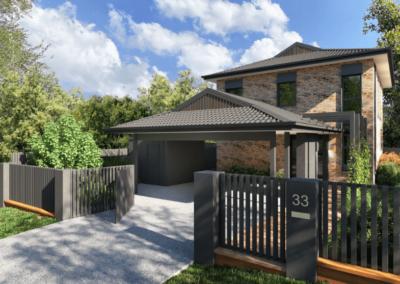 Durston Facade – Balmoral, QLD (renovation)