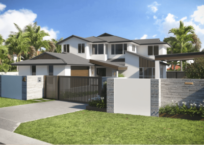 Van Rhyn Facade – Cleveland, QLD (renovation)