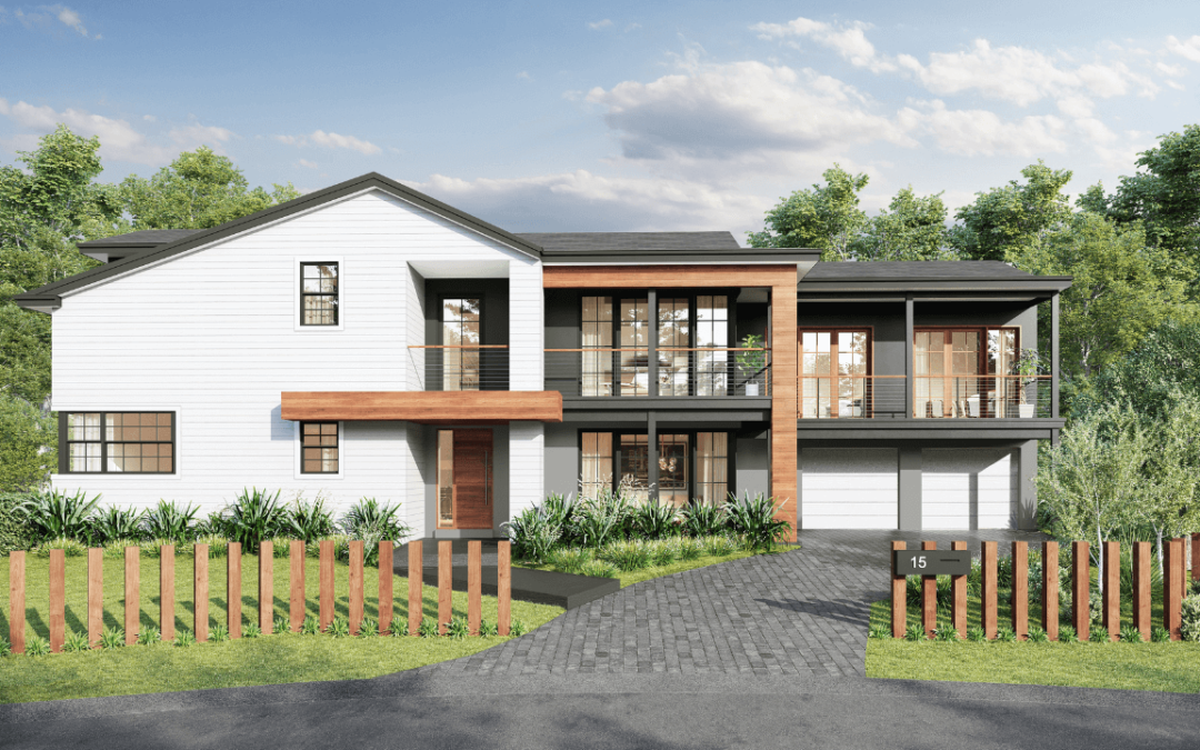 Knowles Facade – St Ives Chase, NSW (renovation)