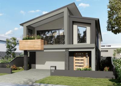 Makhecha Facade – Brisbane, QLD (new build)
