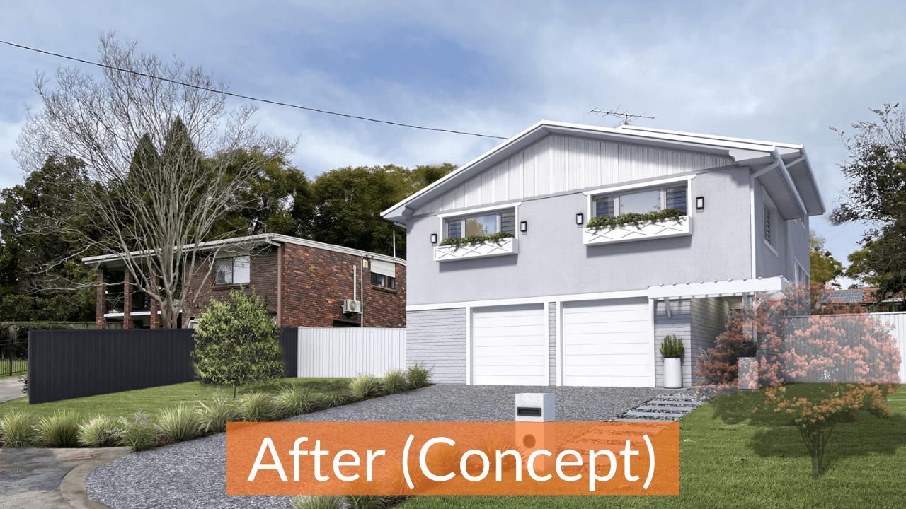 Anderson - Hamptons style facade design