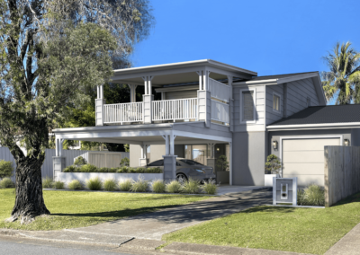 O'Donnell Facade – Tweed Heads NSW (renovation)