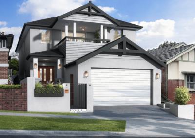 Lawrence Facade – Ashbury, NSW (renovation)